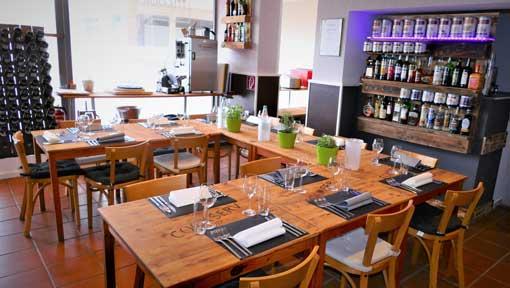 Gästeraum in der Kochlocation